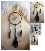 Katt's Dream Catcher~ by AstaraBriarart