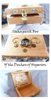 Duchess Hyperion Steampunk Box by Rouages-et-Creations