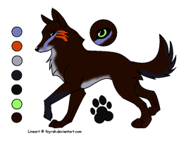Wolf adopt by MelinaThePoet