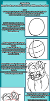 Tutorial: How I draw mobian heads by Bluukio