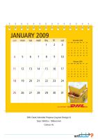 DHL DeskCal 09 Propose Layout3 by phyoeminthaw