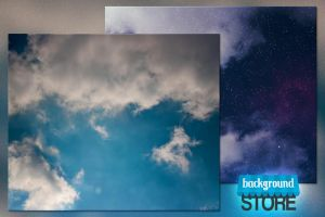 Free Sky Background by BackgroundStore