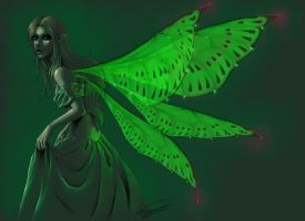 green fairy by Apsaravis