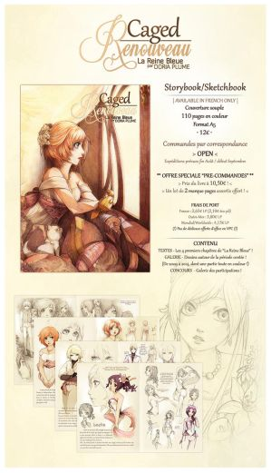 :VPC PRE-ORDERS +OPEN+: Caged -Renouveau- by Doria-Plume