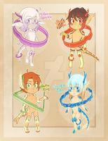 [CLOSED] Ore Children Batch 1 by Dracobby