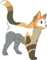 Barn Owl Cat Adopt -CLOSED- by purelyadoptable
