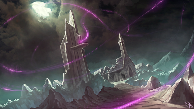 The Mage Tower by RogierB