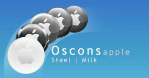 Oscon Steel + Milk Apple OSX by edenprojects