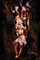 Artemis and Her Retinue of Nymphs (3) by b3designsllc