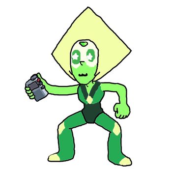 Peridot (Drawn by me) by papyrus-greatest