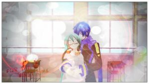 For The First Time... (Kaito X Miku Fanfic) by jrikkocabatasedit