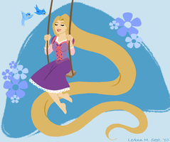 Retro Rapunzel by ForeverRogue