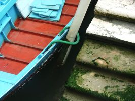 boat ... steps by faather