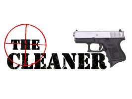 The Cleaner - logo by Dangerman-1973