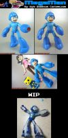 Custom MvsC Megaman 2008 by KyleRobinsonCustoms
