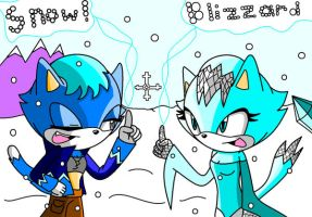 Blizzard and Snow .:RQ:. by AmyTaliaRose