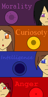 Personality Cores by DarkEcoGirl