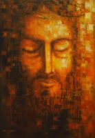 Christ: The Last Contemplation by Adel-Alabbasi