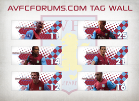 AVFCForums.com Tag Wall by TubZGN