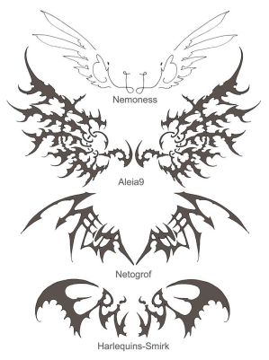 Tattoo Tribal Wings