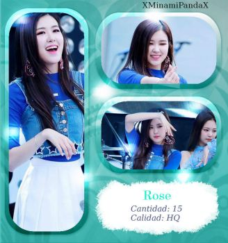 #5033|Rose(BLACKPINK)|Photopack#5 by XMinamiPandaX