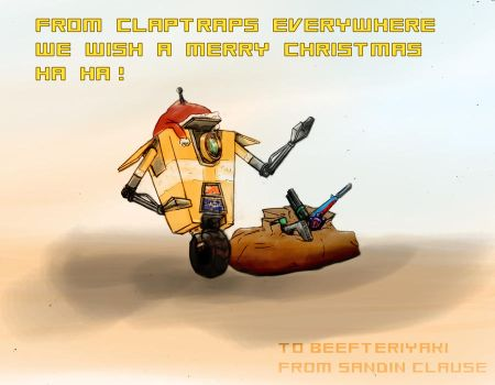 Christmas Claptrap by heartking52