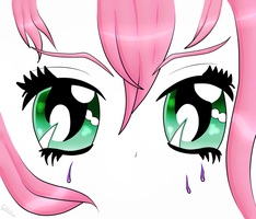 Sadly eyes by KawaiiKittyBunny