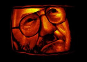 Umberto Eco Carving - Oct 2005 by TheDaneOf5683