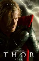 Thor fan teaser poster by agustin09