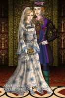 Alice and Tarrant's wedding by Denisaiko