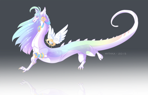 Dragon by Mythka