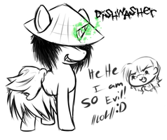 Dishwasher: -be a PONY- by PPGxRRB-FAN