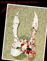 Cosplay Props 3: Splicer Mask by Nanaga