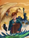 Fantastic beasts by Smilingchesire