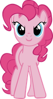 pinkie pie by starboltpony