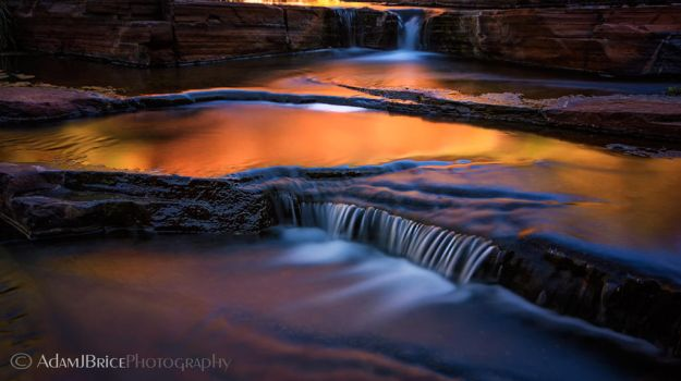Dales Golden Cascades by outstar1979