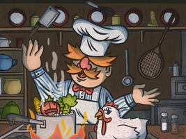 The Swedish Chef by tedikuma