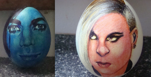 Adam And Tommy Joe Eggs by MysticxCryptic