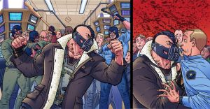 DARK KNIGHT RISES: I MAN BANE spread by ScottCohn