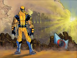 wolvie color by peeterparkker