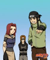 Naruto NG: The Team by sonteen12