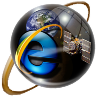 Sphere IE Icon For RocketDock by SonicIcon