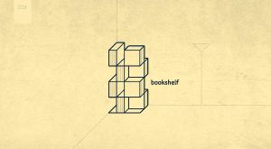 day 26 - bookshelf by 365logoproject