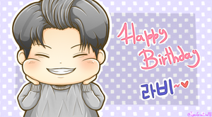 [VIXX] Happy Birthday Ravi~ by IperGiratina98
