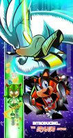 Sonic Rangers 2: White, Green and... Orange?! by miitoons