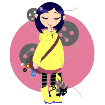 Coraline by SugarSpike
