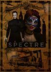 poster Spectre James Bond Stephanie Sigma by Cesaria-Yohann