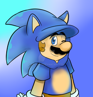 Mario sonic by raygirl12
