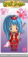 Chibi Human Songo As A Princess Warrior! by CeceLovesSoShSi1415