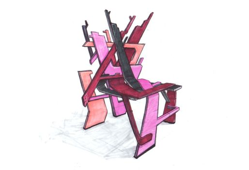 Rutile Chair Concept by NathanMalchow